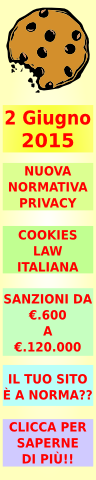 facebook Italian Cookies Law